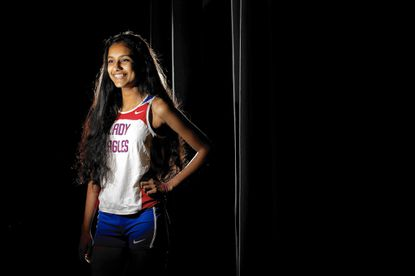 Centennial's Shreya Nalubola earned top three finishes at the county, region and state championship meets for the second straight cross country season.