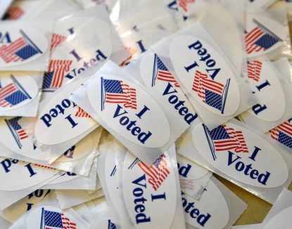A nonprofit group based in Indiana is suing Maryland elections officials in federal court, alleging that it was not allowed to buy a list of the state's voters.