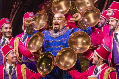 "Korie Lee Blossey as Genie in ""Disney's 'Aladdin,'"" at the Hippodrome Nov. 13-Dec. 1."