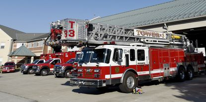 Westminster Fire Company vehicles on May 24, 2018.