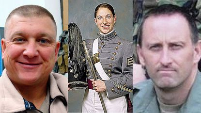 "Richard Michael ""Mike"" Ridgell, Capt. Sara M. Cullen and Officer Jason Schneider"
