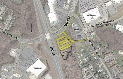 Construction will begin June 15 on a new park-and-ride lot near the I-95 interchange with Routes 24 and 924 in Abingdon.