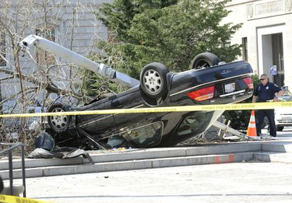City hall crash driver pleads guilty in incident that killed worker