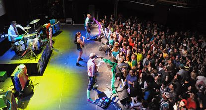 The Bayside Tigers perform at Rams Head Live, which was recently sold to AEG Live, in January 2014.