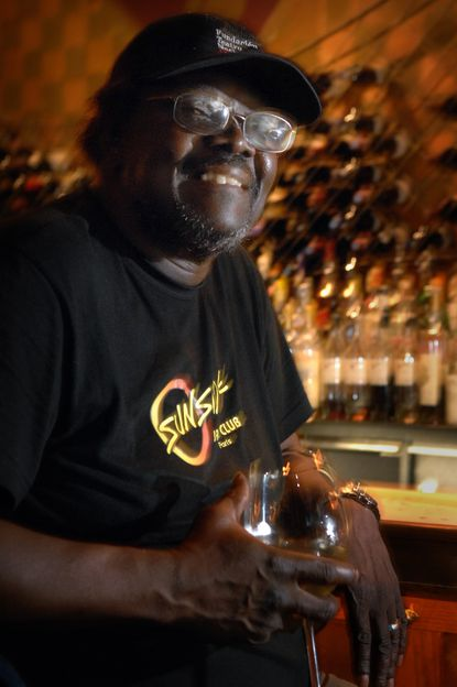 Larry Willis, pictured in 2007 with a glass of pinot grigio at Sotta Sopra, accompanied Dizzy Gillespie, Hugh Masekela, Cannonball and Nat Adderley, Stan Getz and Art Blakey as a jazz pianist.