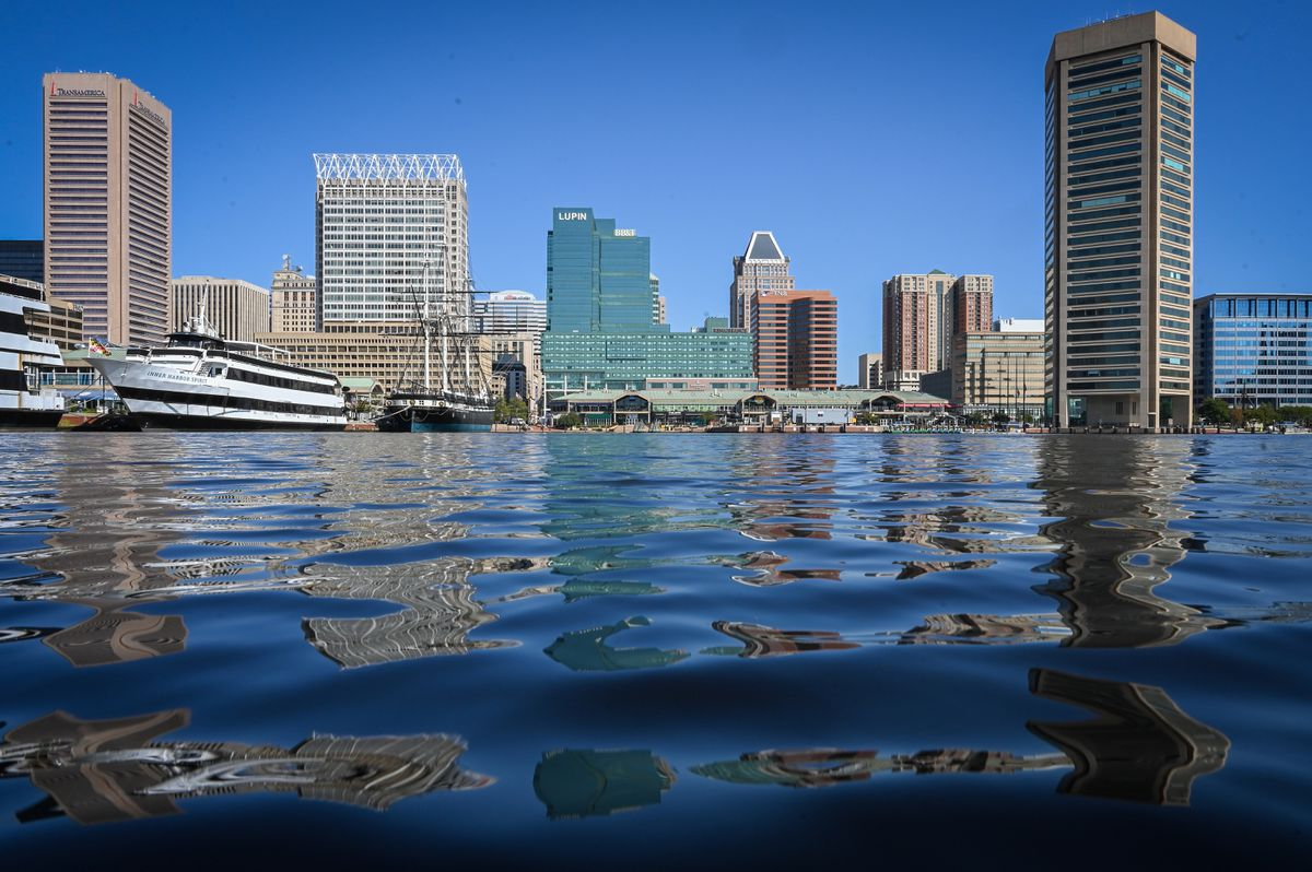 Inner Harbor Halloween 2020 Swimming in Baltimore's Inner Harbor by 2020? No, but maybe 2030