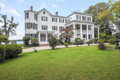 This Easton mansion, built in 1840, is on the market for $2.975 million.