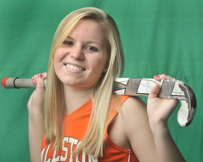 Fallston's Lindsey Puckett is the All-Metro Player of the Year for field hockey.