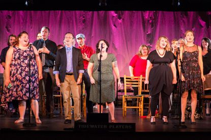 Members of the Tidewater Players perform Sunday evening at the Havre de Grace Cultural Center at the Opera House.