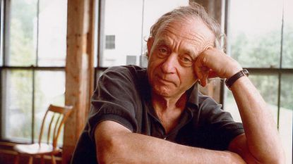 """A photograph of Frederick Wiseman from the movie """"Monrovia, Indiana."""" Credit: John Ewing/Zipporah Films"""