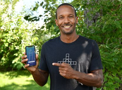 Otha Smith III, a Bowie resident, has founded an app called Tetragram to help cannabis users journal which strains work for them.