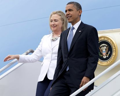 Obama to tell foe-to-friend story at Hillary Clinton event