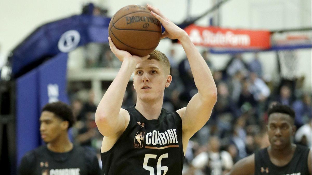 huge discount e109f 4e139 Maryland's Kevin Huerter realizes NBA dream, is drafted 19th ...
