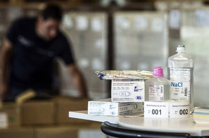 With the first human trials of Ebola vaccines getting underway, officials say that existing public health measures will continue to be the mainstay of efforts to stop the spread of Ebola.