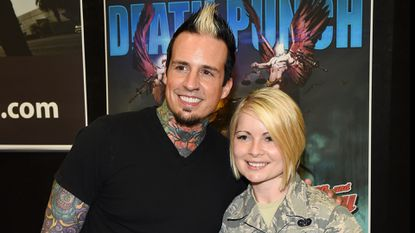 Ex-Five Finger Death Punch drummer now an Indiana police officer