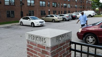 The Pugh administration is seeking a $102 million subsidy for a $889 million East Baltimore redevelopment project that calls for the demolition of Perkins Homes.