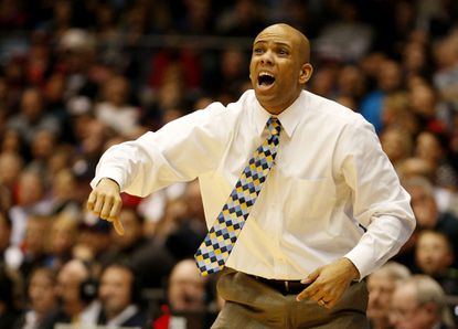 Third-year Mount St. Mary's coach Jamion Christian is 5-1 in NEC tournament games.