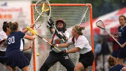 Former Maryland women's lacrosse goalie Alex Kahoe is one of nine members of the Class of 2018 to be inducted into the National Lacrosse Hall of Fame in September.