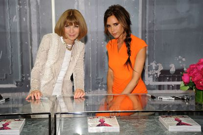 Editor-in-chief of Vogue Anna Wintour and Victoria Beckham attend Bergdorf Goodman Celebrates Fashion's Night Out at Bergdorf Goodman.