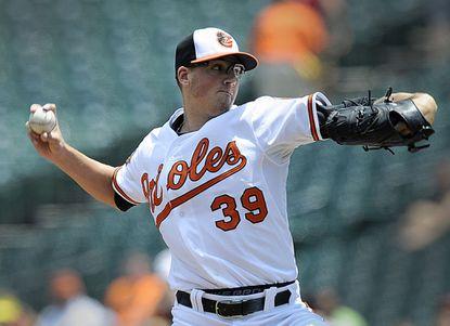 Orioles right-handed starter Kevin Gausman received a cortisone shot Sunday because of shoulder tendinitis.