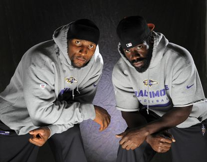 Ray Lewis and Ed Reed are focused on helping the Ravens continue their winning tradition.