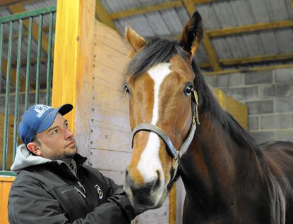 Maryland Million Classic winner Admirals War Chest was trained by Corby Caiazzo on Darlington's Berkley Farm.