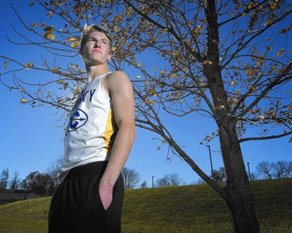 Liberty's Nick Tilson is the Carroll County Times Boys Cross Country Runner of the Year.