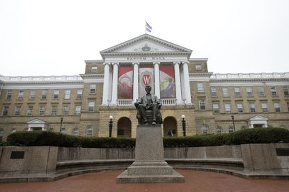 Bascom Hall on the campus of the University of Wisconsin in 2013.