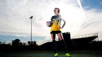 Wilde Lake junior Julianna Bonner, who led the county in goals for the second straight season, is the 2017 girls soccer Player of the Year.