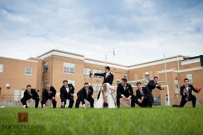 One of Joe Flacco's wedding photos