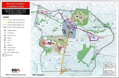 Towson Circulator concept loops back around as councilman makes push for 2020 pilot program