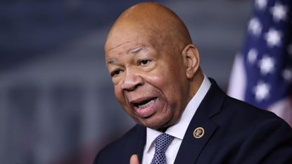 Rep. Elijah Cummings, D-Md., speaks during a news conference on Capitol Hil.