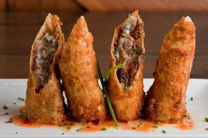 The cheesesteak eggrolls at Sullivan's