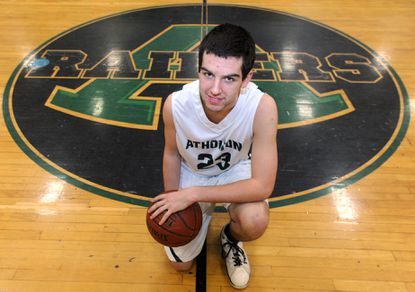 Michael Bernetti, basketball player for Atholton.