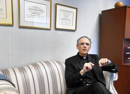 St. Margaret pastor says farewell after 20 years in Harford