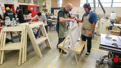 Woodworking Students At Escondido High Play Santa S Elves With Holiday Project Baltimore Sun