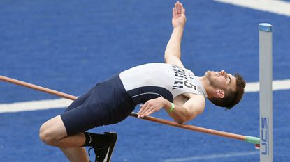 Track & Field: Man Valley's Josh Gerber goes out with silver medal in 3A high jump
