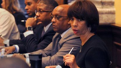 """Mayor Catherine Pugh held a meeting with her """"grassroots"""" or """"community cabinet"""" earlier this year. She has helped many groups obtain nonprofit help for their missions."""