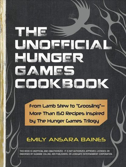 "While the book's grim dystopian plot does not instantly suggest baking options, Emily Ansara Barnes, author of ""The Unofficial Hunger Games Cookbook,"" said she immediately got the idea for her culinary take while reading the first book. For instance, she was inspired by a scene in which pivotal character Peeta, the son of a baker, screws up an order so he can give an underfed Katniss the overdone results. ""When I got to the part where Peeta burned the bread for Katniss, I thought, 'Wow, that bread sounds kind of good ... other than the burned part."" Barnes' book, out now, boasts 150 recipes, from ""Katniss' Favorite Lamb Stew"" and ""Rue's Roasted Parsnips"" to ""Capitol-Grade Dark Chocolate Cake."" Barnes has been a big fan of the book series since first hearing about it from a friend's mother who's a school librarian. ""She knew I was disappointed in a lot of recent YA literature, such as 'Twilight,' where the woman loses herself and gives up everything for a man,"" said Barnes. ""Katniss always stays true to herself and does what's best for her ¿ and, more importantly, her family ¿ rather than what might make her romantic life easier."" Plus, she loves a good stew."