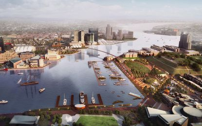 Plan to improve the Inner Harbor