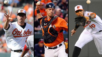 Hardy, Jones and Wieters win Gold Glove Awards