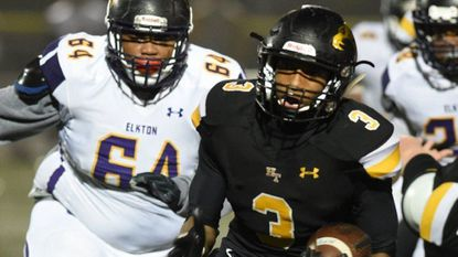 Elkton avenges football loss with playoff win over Harford Tech