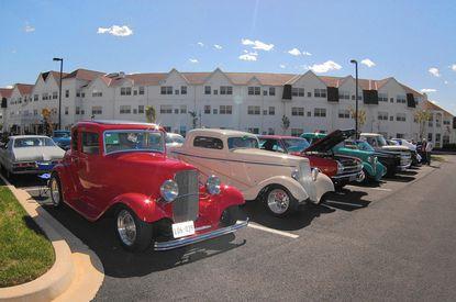 Retirement community, car club organize benefit