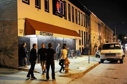 Best known for its live music, The Ottobar is also a great place to watch the Ravens game.
