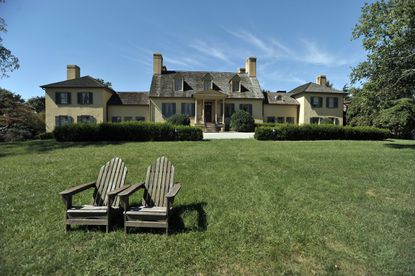 The manor house at Belmont Manor Historic Park is a 1738 house on a 68-acre estate that Howard County recently purchased to be used for conferences, private parties, weddings and other events.