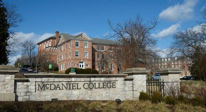 McDaniel College in Westminster.