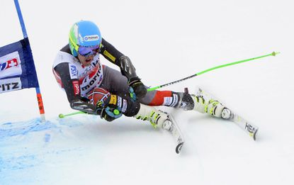 Ted Ligety at the FIS Alpine Skiing World Cup in St. Moritz, Switzerland. (Urs Flueeler/EPA Photo)