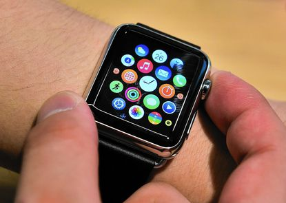 """""""Last year we had the Apple Watch, now with fitness apps and Android Wear heating up, I see wearables taking off,"""" said Kati Townsley, executive director ofthe Carroll County Tech Council."""