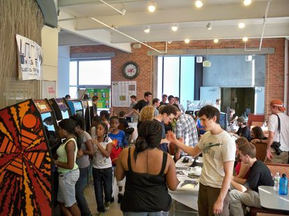 Happening Sunday: Gamescape, Foodscape, and Artscape
