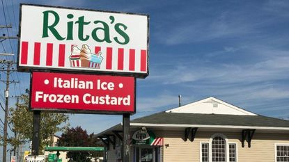 The Rita's Italian Ice on Frederick Road in Catonsville is scheduled to open Oct. 28.